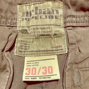 Urban Pipeline army green chinos